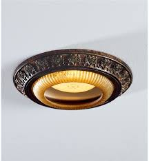 Recessed Light Fixtures by Acanthus Leaves Light Cap Ring Lighting Plow U0026 Hearth