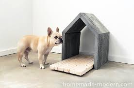dog i y how to make a modern concrete dog house dog milk