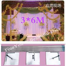 wedding backdrop china wedding backdrop stand with expandable rods backdrop frame
