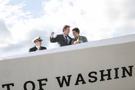 spirit halloween charlottesville va mayor bowser christens the wharf u0027s new yacht wtop
