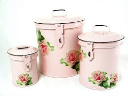 vintage canisters for kitchen amazon com retro vintage canister set kitchen storage canisters