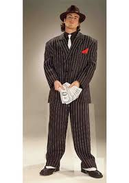 Mens Gangster Halloween Costume Chicago Gangster Men Costume 43 99 Costume Land