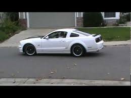 white mustang 2006 pypes road x pipe project 2006 mustang gt