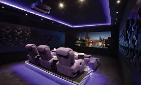 Cinetopia Parlor Room by This Star Ceiling Is Made Up From 16 Infinity Acoustic Panels