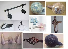 Decorative Curtain Finials Finials For Curtain Rods Drapery Room Ideas