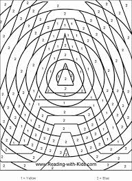 the letter a coloring page 41 best colour by numbers images on pinterest color by numbers