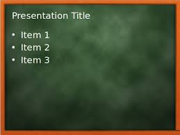 chalkboard powerpoint templates free download free education