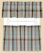 Blue Plaid Curtains Plaid Curtains Ebay