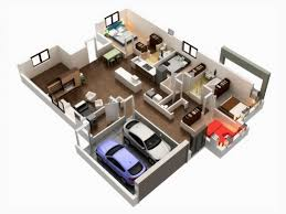awesome 1000 images about 3d house plans on pinterest bedroom