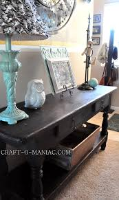 Entry Table Decor by Home Decor New Entry Table From Craigslist Craft O Maniac