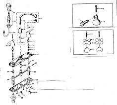 kitchen faucet repair kits iron delta kitchen faucet repair kit centerset single handle pull