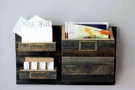 Wooden Interior Furniture Cute Magazine File Ikea Wall Mounted Rack Folder