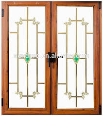 home windows grill design double glass wood grain aluminum window grill design buy window