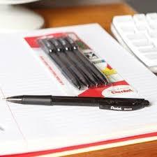 amazon com pentel arts pocket amazon com pentel bk 420 click rt med ball point pens 4 pack