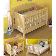 Convertible Crib Plans 3 In 1 Bed For All Ages Woodworking Plan From Wood Magazine