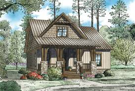 Stone Farmhouse Plans by Norham Craftsman Cabin Home Plan 055d 0892 House Plans And More