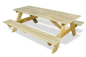 Picnic Table With Benches Plans Picnic Table Plans U0026 Diy Picnic Tables 84 Lumber