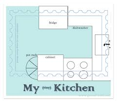 inspirational mini kitchen pantry floor plan layout with u shape