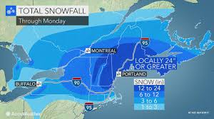 blizzard conditions feet of snow to bring new england to a