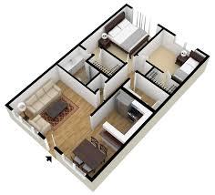 800 sq ft apartment