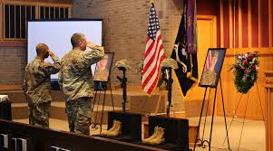 Army Service Flag Fort Jackson Remembers Trainees As Brave Aspiring Soldiers South