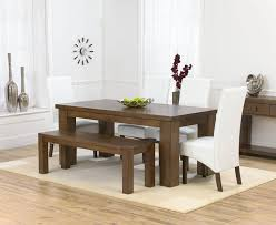 Dining Table Bench Oak Design Ideas  Pinterest - Bench for kitchen table