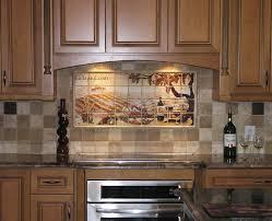 Kitchen Wall Mural Ideas Kitchen Luxury Kitchen With Wall Murals Bakcsplash And Nice