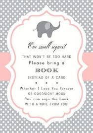 awesome creation baby shower invitations bring a book instead of