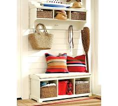 Shoe Storage Bench Benches Benches With Baskets Modern Casual Storage Entryway