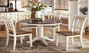 kitchen table round small sets marble folding 4 seats espresso
