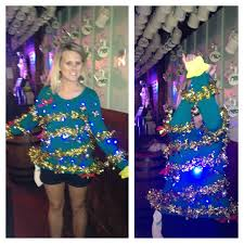extra creative ugly christmas sweater awesome put your arms up
