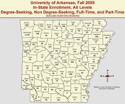 Fayetteville Ar Map Enrollment Reports Institutional Research And Assessment