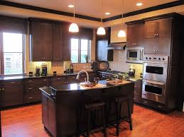 Dark Mahogany Kitchen Cabinets Kitchen Countertop Options For Your Awesome Kitchen Designoursign