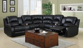 Leather Sectional Sofa With Power Recliner Sofa Leather Sectional Sofas With Recliners Outstanding Brown