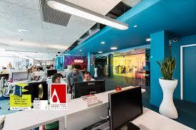 Google Headquarters Interior Google Campus Dublin Google Office Architecture Technology