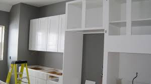 Grey Kitchen Cabinets 12 Ideas Of White Kitchen Cabinets With Gray Walls