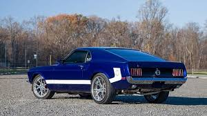 1969 Mustang Black Seller Of Classic Cars 1969 Ford Mustang Deep Impact Blue Black