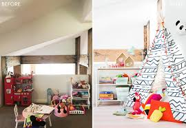Pink And Green Kids Room by Playroom Makeover With Pillowfort Emily Henderson