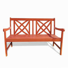 Garden Bench Hardwood Outdoor Benches On Sale Bellacor