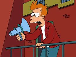 Meme Creator Fry - futurama fry megaphone meme generator imgflip
