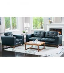 Top Grain Leather Living Room Set Living Room Sets