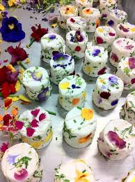 edibles flowers edible flower canapés with herbed cheese baking day
