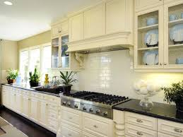 Green Kitchen Tile Backsplash Kitchen Tile Backsplash Ideas Kitchen Island With Yellow Breakfast