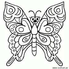 difficult coloring pages adults butterfly print