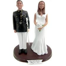 custom wedding cake toppers army officer custom wedding cake toppers
