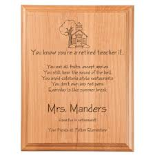 retirement plaque retired if plaque engraved gift collection
