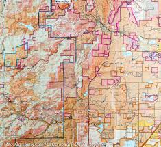 Physical Map Of Colorado by Map Of Boulder Golden Colorado 100 National Geographic