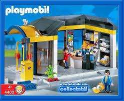 bureau playmobil 17b service au 4400 bureau de poste photo archive article