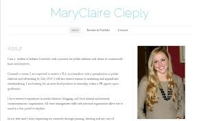 Online Resume Portfolio by Online Portfolios Tips And Examples For Aspiring Pr Pros The