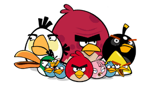 draw angry birds birds
